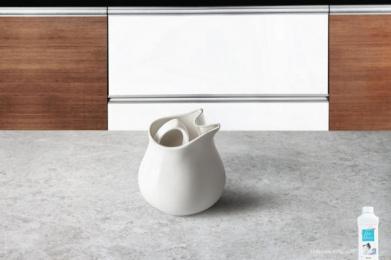 Amway: Milk pot Print Ad by Rediffusion Y&R