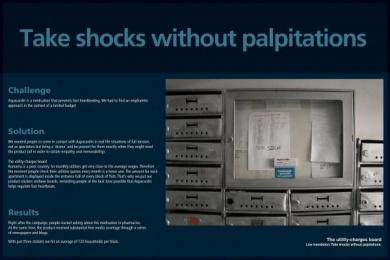 Aspacardin Drug: SHOCKS WITHOUT PALPITATIONS Ambient Advert by Propaganda