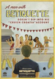 betiquette.nsw.gov.au: Cruizn Croatia Outdoor Advert by GPY&R Sydney, Sixty40