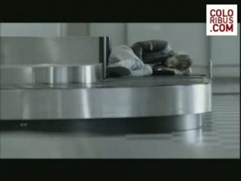 National Board Of Health: LUGGAGE TRANSPORT Film by Umwelt