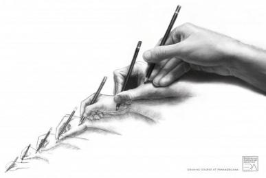 Panamericana - Art And Design School: HANDS Print Ad by ALMAP BBDO Brazil