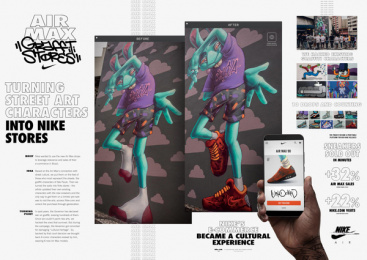 Nike: Air Max Graffiti Stores Outdoor Advert by Akqa Sao Paulo