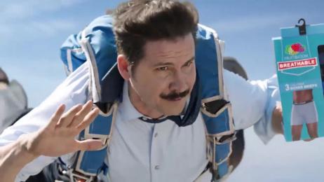 Fruit Of The Loom: Parachute - Men's Breathable Underwear Film by @radical.media, Crispin Porter + Bogusky Boulder