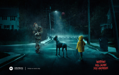 Mitch&Me: Pennywise Print Ad by Jekyll.Hyde.agency