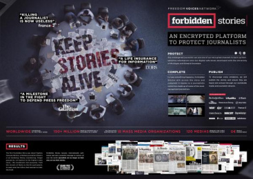 Freedom Voices Network: Case study Print Ad by J. Walter Thompson Paris