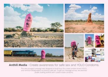 Yolo Condoms: Yolo Condoms Awareness Campaign [image] Ambient Advert by Advantage Y&R Namibia