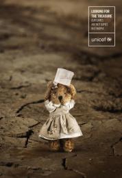 UNICEF (United Nations International Children's Emergency Fund): Treasure Print Ad by ESNE, University School of Design Innovation and Technology Madrid