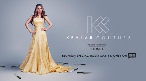 The Real Housewives of Sydney: Kevlar Couture Outdoor Advert by Clemenger BBDO Sydney, Paper Dragon