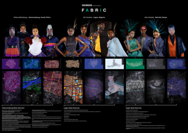 Siemens: Fabric, 2 Print Ad by King James