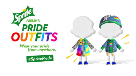 Sprite: Outfits of Pride, 4 Digital Advert by Only IF
