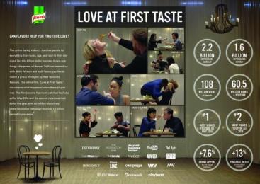 Knorr: Love At First Taste [image] Film by MullenLowe London, Pulse Films Ltd