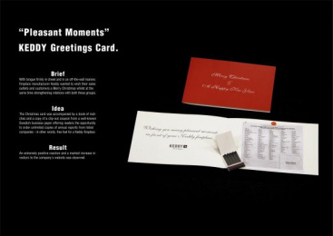 Keddy Fireplaces: PLEASANT MOMENTS Direct marketing by Hundra Reklambyra