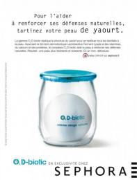 "Sephora Fragrances & Cosmetics: ""O2 D-biotic"" Print Ad by Quelle Belle Journee"