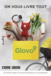 Glovo: Hands Print Ad by Pavlov