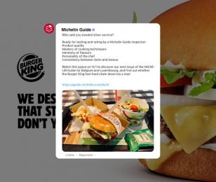 Burger King: Master Burger, 1 Print Ad by Buzzman