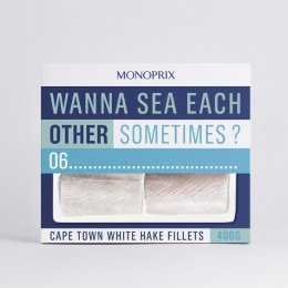 Monoprix: Fillets Print Ad by Muscle, Rosapark Paris