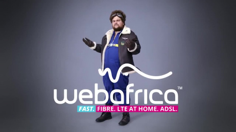 Webafrica: Effing Fast Internet Film by The Jupiter Drawing Room South Africa