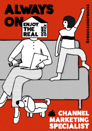 Preuss und Preuss: Homeoffice recruiting - Always on channel marketing specialist  Print Ad by Preuss Und Preuss Germany