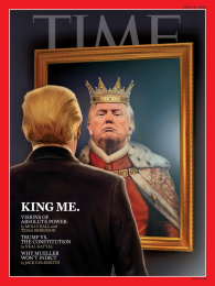 Time: King Me Print Ad by The New York Times Magazine