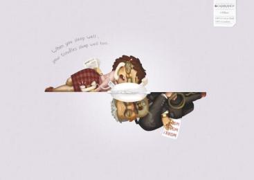 Casablanca I-Pillow: BOSS Print Ad by Leo Burnett Hong Kong