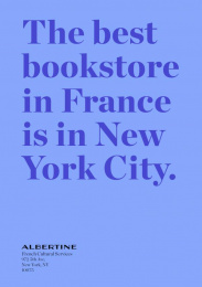 Albertine: The Best Bookstore In France Is In NY, 2 Print Ad by Havas New York