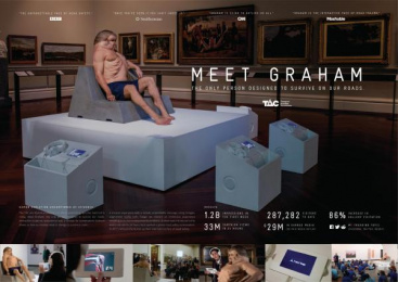 Transport Accident Commission (TAC): Meet Graham [image] 3 [alternative version] Design & Branding by Airbag Productions, Clemenger BBDO Melbourne, Flare