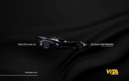 Vita Blindagem: Batman Print Ad by FLEX And Comunicação