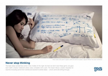 Y&R: NEVER STOP THINKING Direct marketing by Y&R Kuala Lumpur
