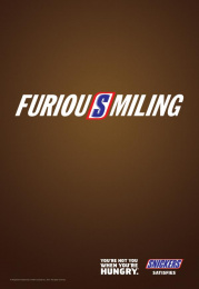 Snickers: FuriouSmiling Print Ad by BBDO Toronto