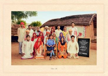 Nestle: Nanhi Kali, 2 Print Ad by J. Walter Thompson Mumbai