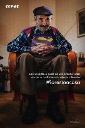 Rewot: #iorestoacasa Print Ad by Rewot