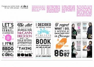 CLUB DE CREATIVOS: STOLEN BOOKS Design & Branding by Ruiz Nicoli