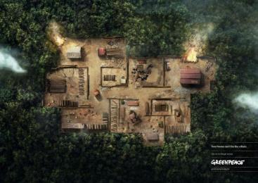 Greenpeace: Rainforest Print Ad by DM9DDB Sao Paulo