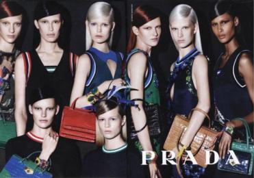 Prada: PRADA, 3 Print Ad