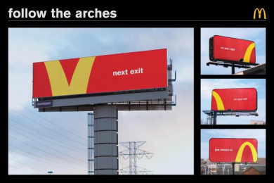 McDonald's: Follow the Arches Outdoor Advert by Cossette Toronto
