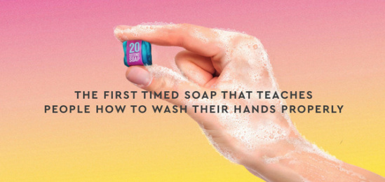 Verve: 20-Second Soap, 4 Print Ad by Verve Live Agency, Dublin , Ireland