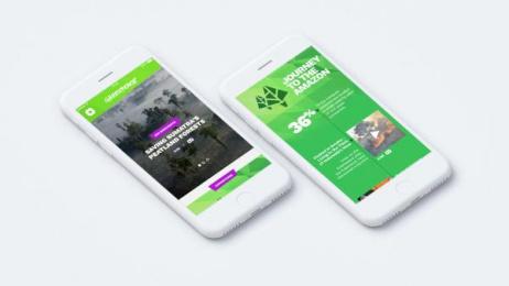 Greenpeace: Virtual Explorer, 3 Digital Advert by AllofUs
