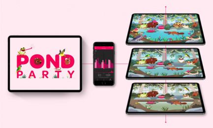Powershop: Powershop Pond Party, 6 Digital Advert by Grey Melbourne