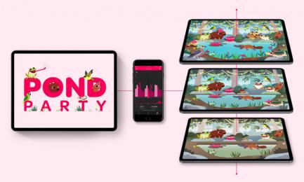 Powershop: Powershop Pond Party, 6 Digital Advert by Grey Melbourne