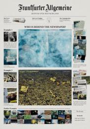Frankfurter Allgemeine Zeitung: THERE IS ALWAYS A CLEVER MIND BEHIND IT Promo / PR Ad by Scholz & Friends Berlin