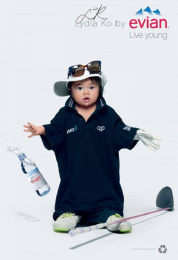 Evian: Oversize, 10 Print Ad by BETC
