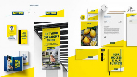 Metro: Your Success is Our Business, 1 Design & Branding by Serviceplan Hamburg