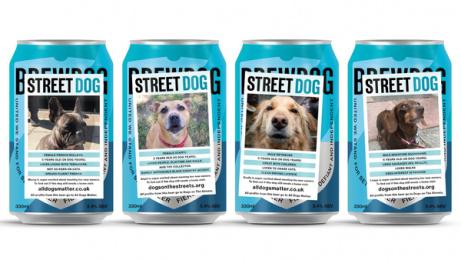 Brewdog Beer: StreetDog Print Ad by Uncommon London
