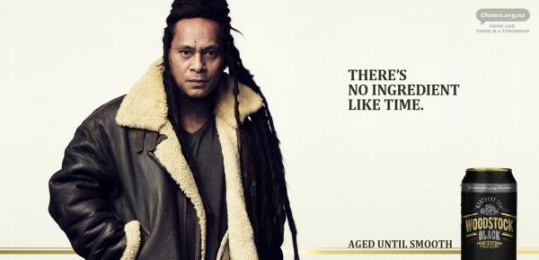 Woodstock Black: There's No Ingredient Like Time, 4 Outdoor Advert by Whybin\TBWA Auckland