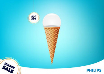Philips: Summer Sale, 2 Print Ad by Acc Granot Israel