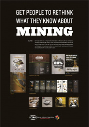 Chamber of Mines SA: Whats Yours Is Mined 1 Design & Branding by Quirk Cape Town