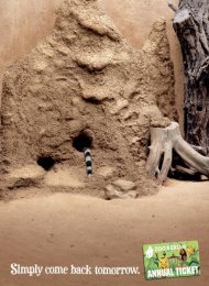 Zoo Card Annual Pass: MONGOOSE [alternative version] Print Ad by Scholz & Friends Berlin