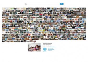 UNWRA: LA FOTO MENOS VISTA - SYRIA (spa) Print Ad by J. Walter Thompson Barcelona