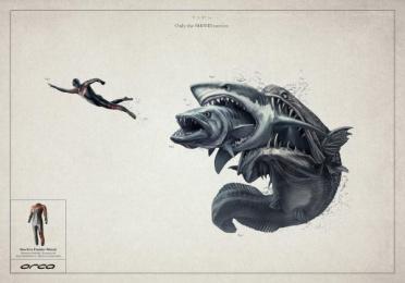 Orca: SEA Print Ad by Tiempo BBDO