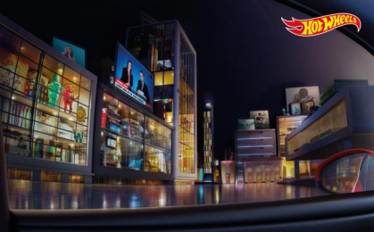 Hot Wheels: Living Room City Print Ad by Illusion, J. Walter Thompson Bangkok